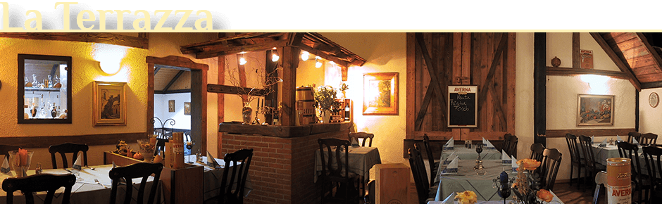 Restaurant La Terrazza in Nidda